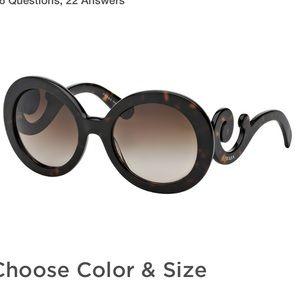 c334c57954 Prada Accessories - Prada Sunglasses spr 27n New with case and cards